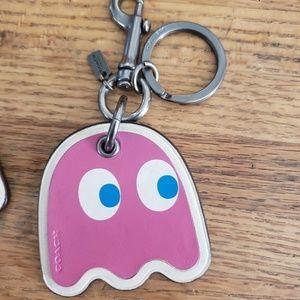 Coach Pac-Man key chain